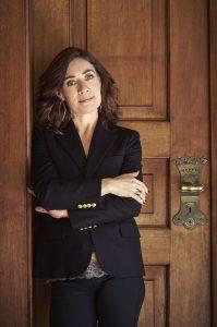 Marie-Louise Hansen, forfatter til Olgas bog. (Til WEB. Findes også til print, send mail til forlag@vildmaskine.dk) Angiv gerne fotograf: Anne Kring.