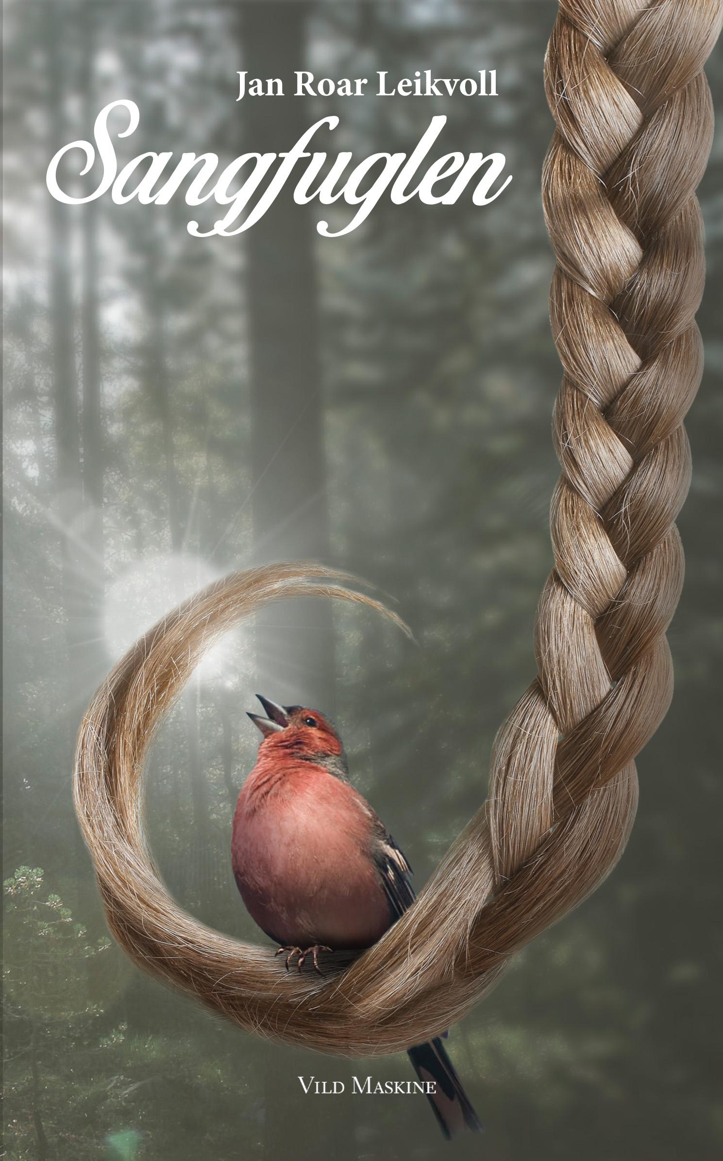 Sangfuglen af Jan Roar Leikvoll - omslag af Arko Højholt