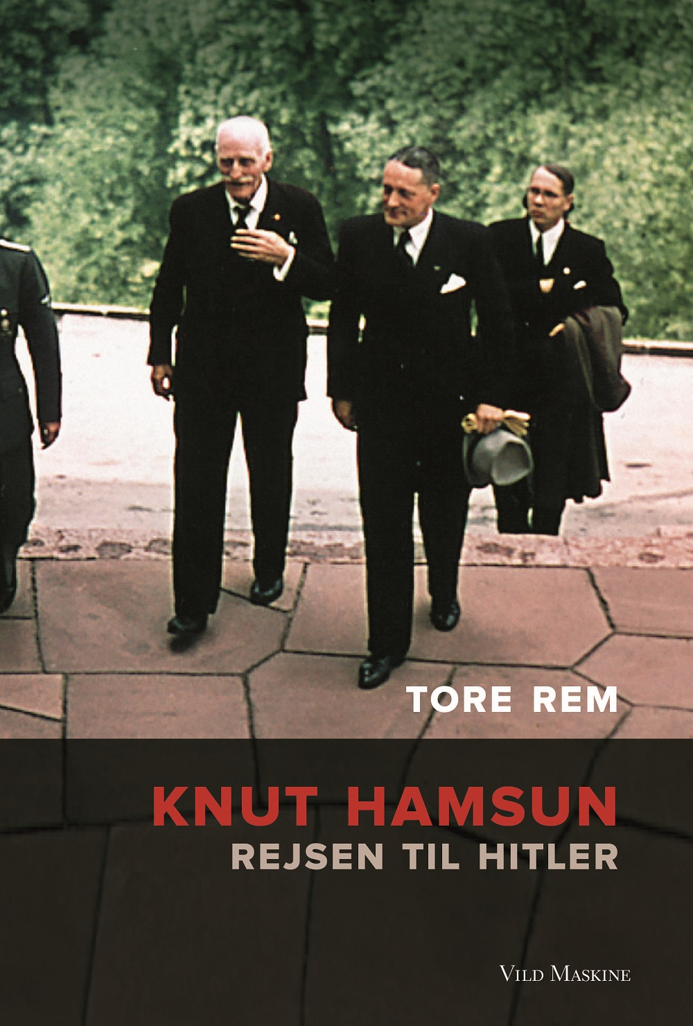 Forside til 'Knut Hamsun - Rejsen til Hitler'