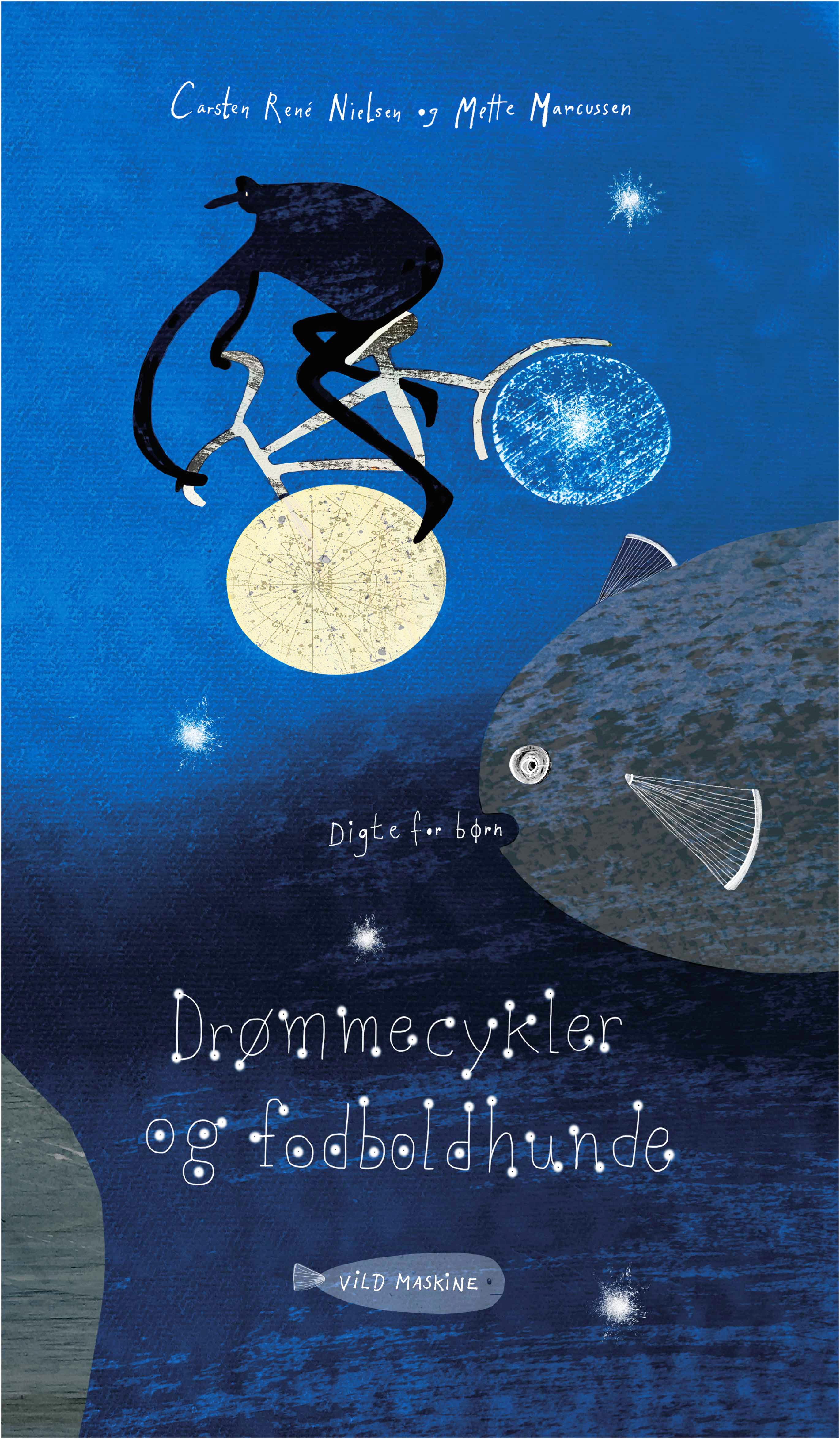Drømmecykler og fodboldhunde, poetry for children. Sold to Armenia.