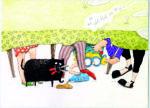 Illustration fra Havesaksen, illustreret af Louise Thrane Jensen. Find i højeste opløsning i Dropboxen: https://www.dropbox.com/sh/2q6pw3lq1r0blw9/AADg5hat7IB-BjxQ4JUUZFuga?dl=0