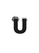 'Magnetisk U', digt fra Thomas Kirks 'Hvad siger sproget?', der udkommer 10. december 2020. (Findes i høj opløsning i dropboxen, se ovenfor.)