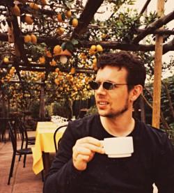 Lars Mæhle i Italien
