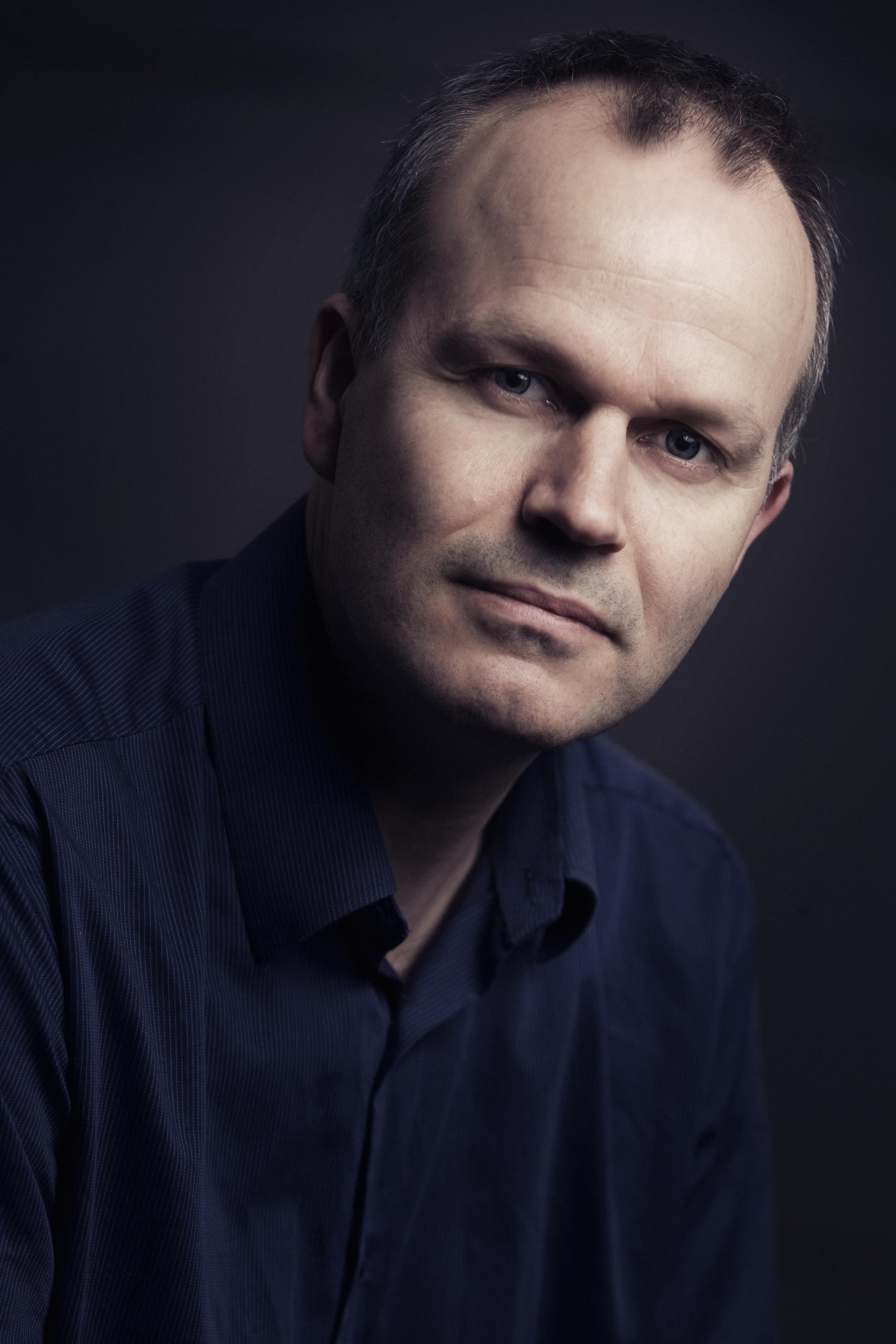 Pressefoto Tore Rem, forfatter til 'Knut Hamsun - Rejsen til Hitler'