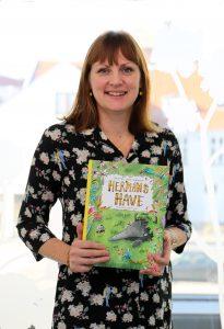 Pressefoto. Christine Lund Jakobsen, forfatter til Hermans have. Udgivelsesdato: 12-10-2018.