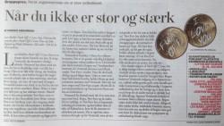 Anmeldelse i Weekendavisen Mæhle