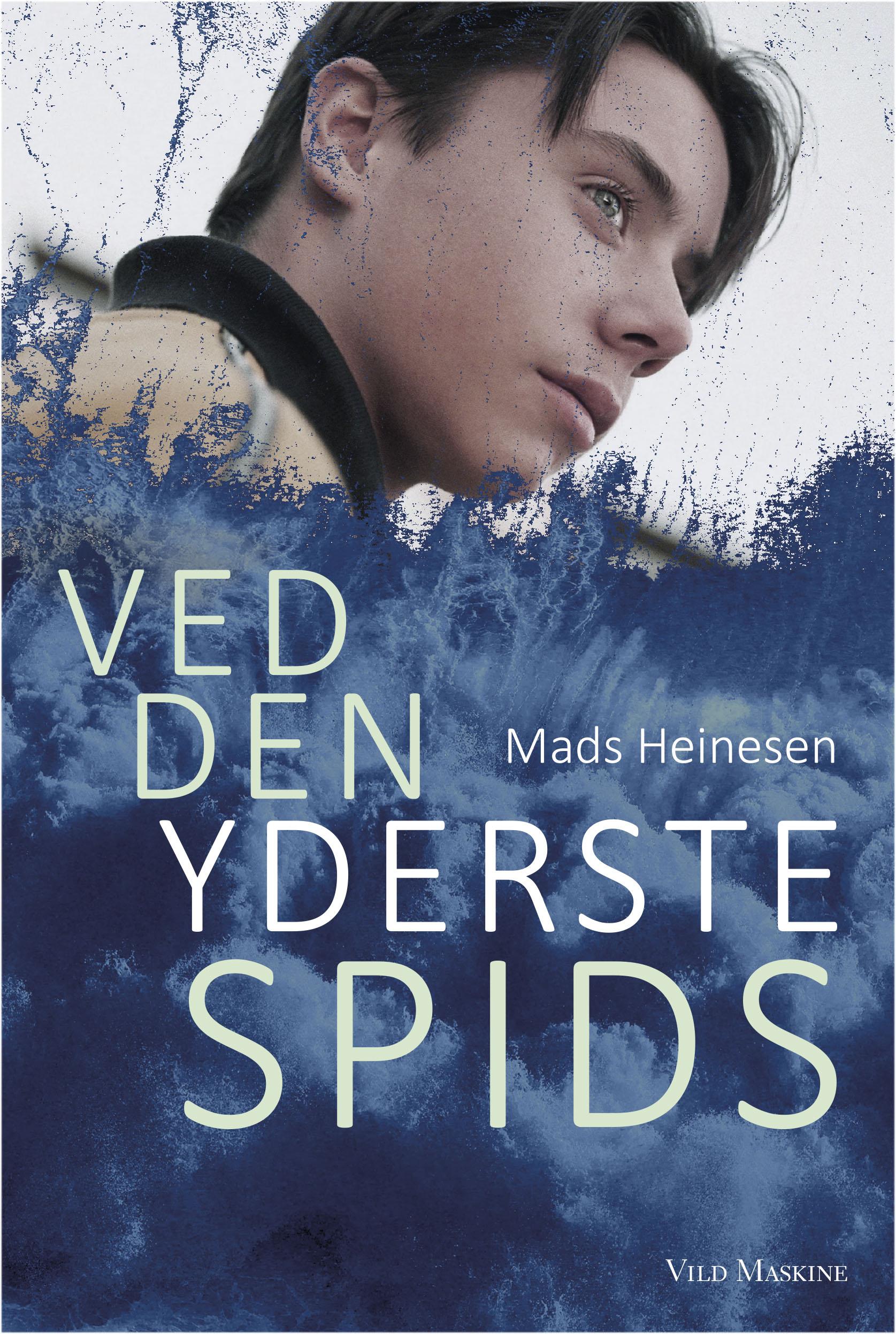 Ved den yderste spids af Mads Heinesen, udkom 21. januar 2018. Omslag lavet af forfatteren.