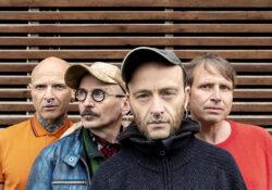 Nikolaj Tange Lange, Dennis Agerblad, Mads Ananda Lodahl og Tomas Lagermand Lundme. Foto: Camilla Lohmann.