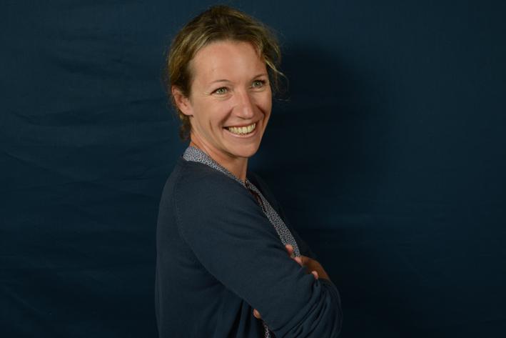 Anne-Laure Bondoux. Foto © Catherine Hélie.