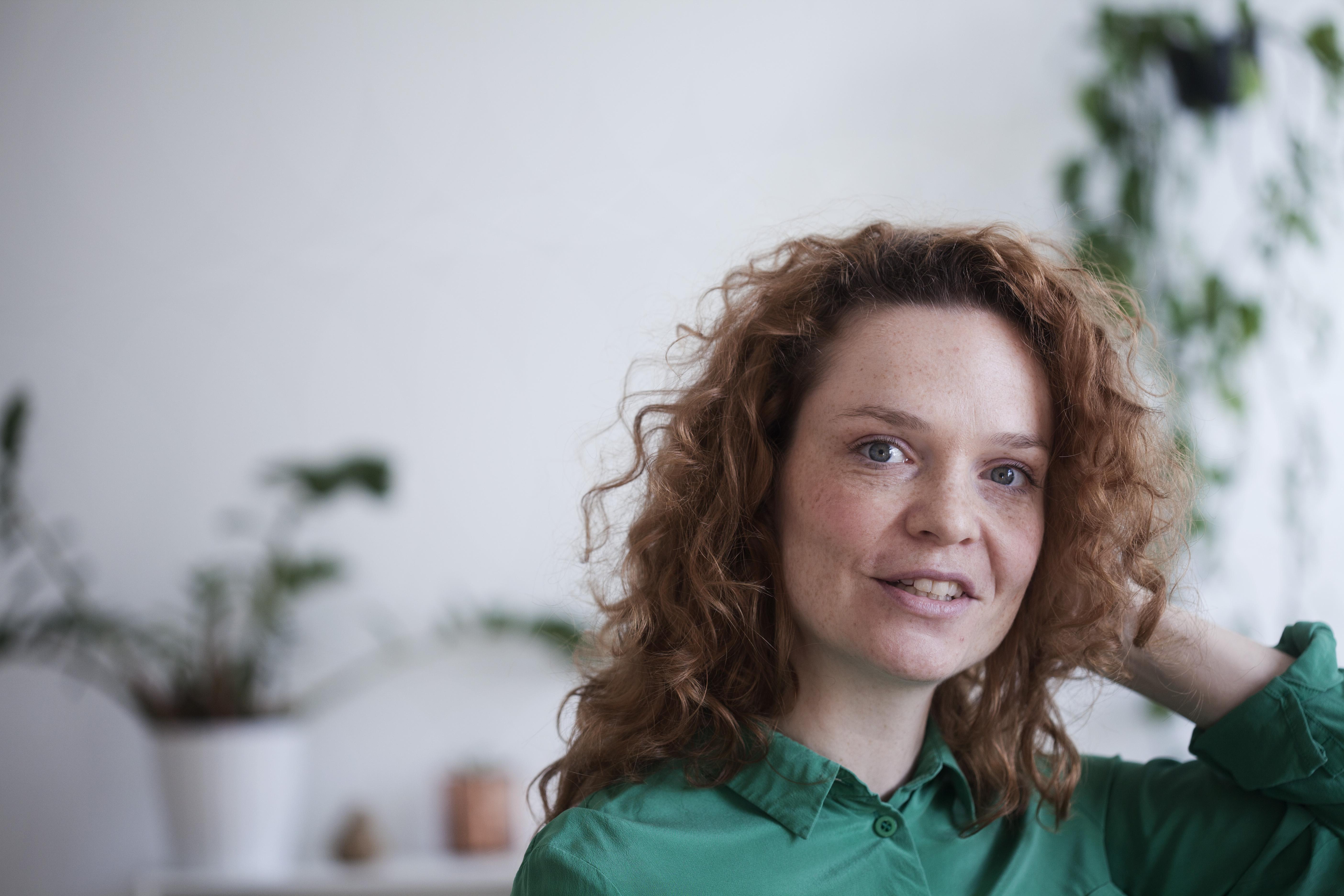 Rikke Oberlin Flarup, forfatter til Telefontesten, der udkom 23. juni 2018.