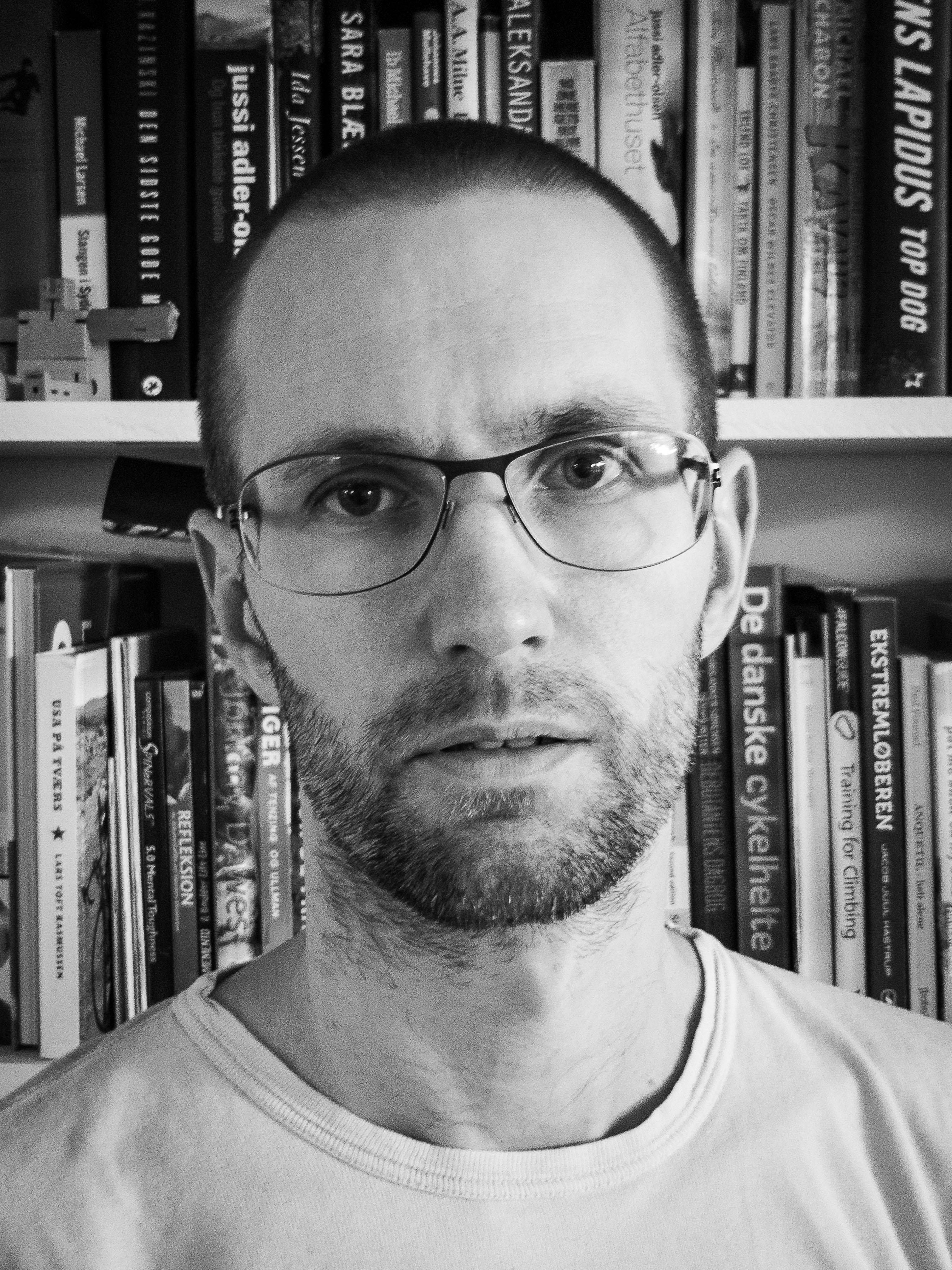 Morten Walther Rasmussen. Pressefoto.