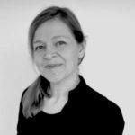 Karen Filskov. Forfatter og illustrator til Det sner med fjer. Foto: Bente Vilandt.